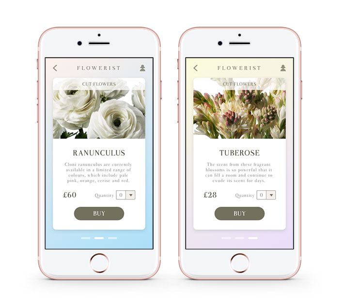 Flowerist - A prototype for an online flower shop